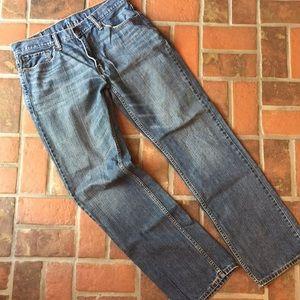 Men's Levi's 559 blue jeans. 33 x 34